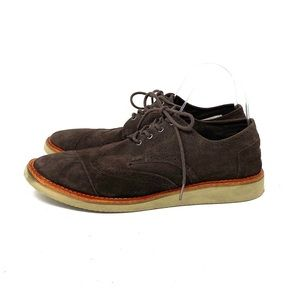 Toms Suede Oxfords
